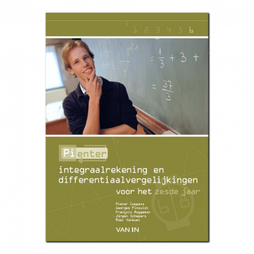Pienter 6 aso/tso Leerboek Integralen en differentiaalvergelijkingen (6u-8u)