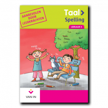 Spellingoefenboek leerjaar 3