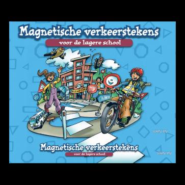Wegwijzers! - Set magnetische verkeerstekens