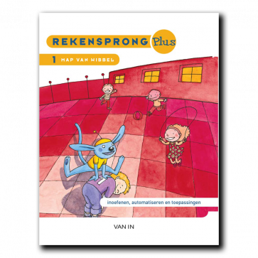 Rekensprong Plus 2 - Map van Wibbel A+B