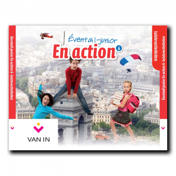 Eventail Junior En action 6 - Audio-cd met luisterteksten (3 cd's)