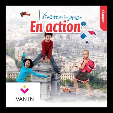Eventail Junior En action 6 - Audio-cd met chansons (2 cd's)