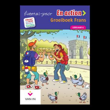 Eventail Junior En action 6 - Groeiboek