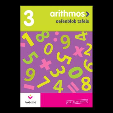 Arithmos tafels 3 herwerkt - set van 5