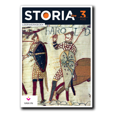 STORIA live 3 aso Leerwerkboek (incl. tijdlijn)