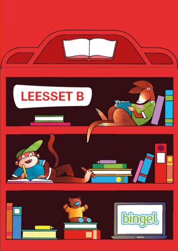 Ik lees met hup en aap leesset 2