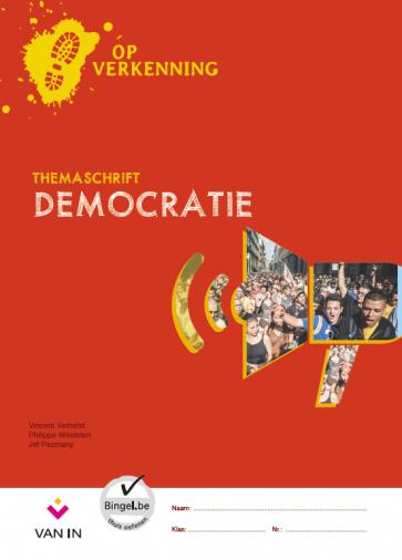 Op verkenning 5 - democratie - themaschrift