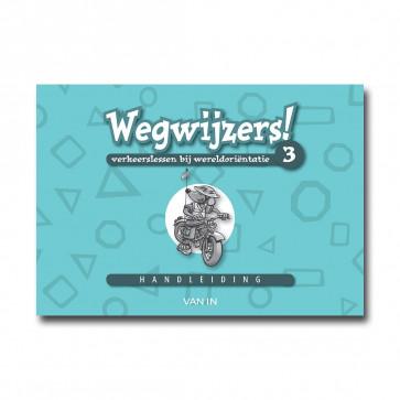 Wegwijzers! 3 - handleiding (incl.verkeers-CD-rom) - Pack