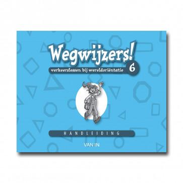 Wegwijzers! 6 - handleiding (incl.verkeers-CD-rom) - Pack