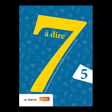 7 à dire 5 Leerwerkboek
