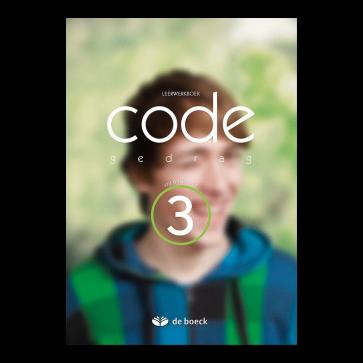 Code Gedragswetenschappen 3 (VO) - leerwerkboek