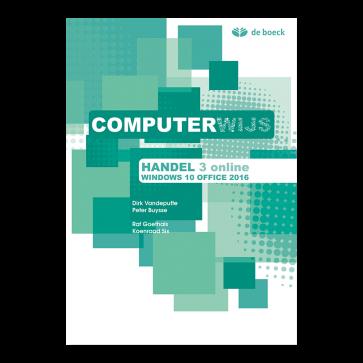 Computerwijs Handel 3 Leerboek Windows 10 / Office 2016 online