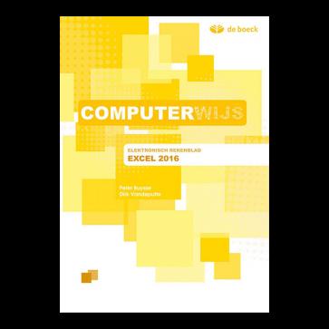 Computerwijs Leerwerkboek Excel 2016