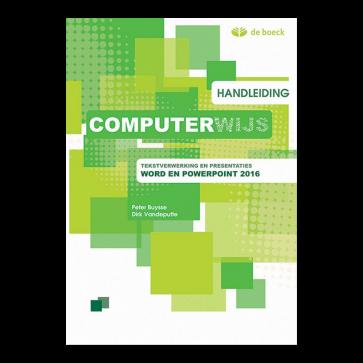 Computerwijs Handleiding Word en Powerpoint 2016