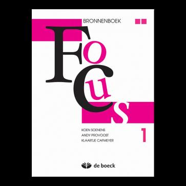 Focus 1 Bronnenboek (nieuwe editie)