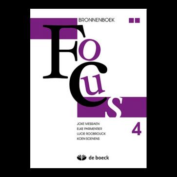 Focus 4 aso - bronnenboek (n.e.)