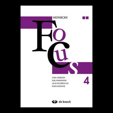 Focus 4 aso - werkboek (n.e.)