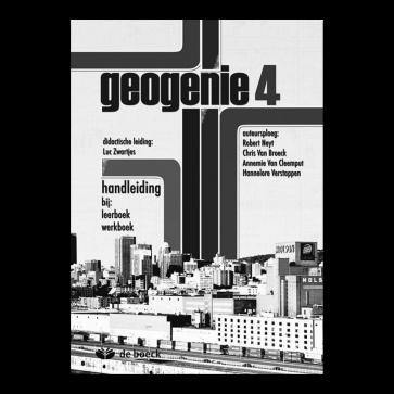Geogenie 4 Handleiding bij leerboek en werkboek