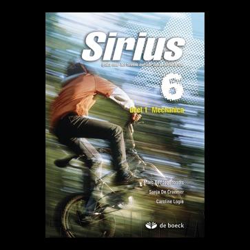 Sirius 6 - deel 1 - Mechanica - leerboek
