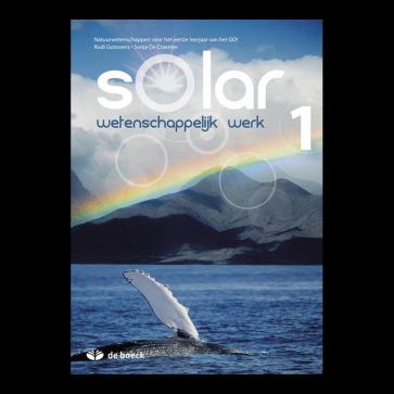 Solar 1 Wetenschappelijk Werk Leerwerkschrift