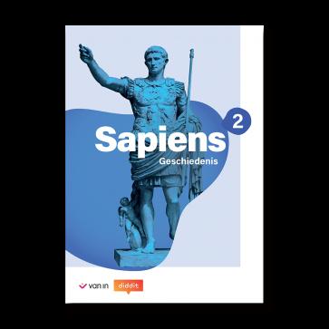 Sapiens 2 - leerwerkboek incl. diddit