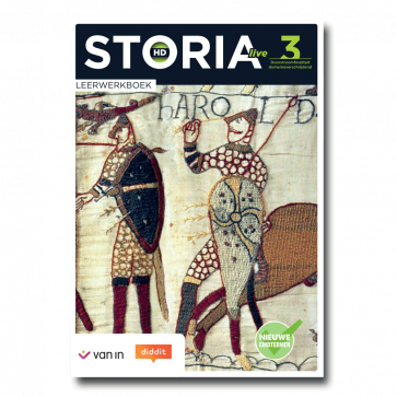 Storia LIVE HD 3 D - leerwerkboek 2u