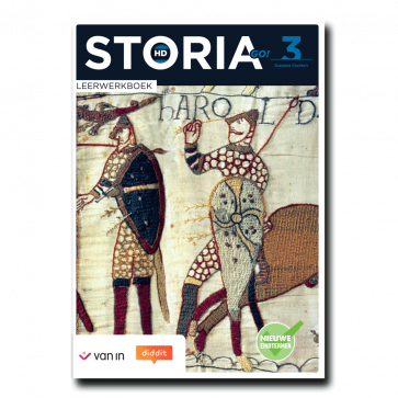 Storia GO! HD 3 D/A - leerwerkboek