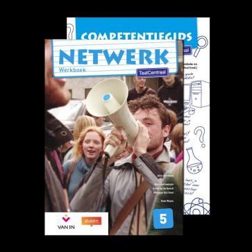 Netwerk TaalCentraal 5 - werkboek + competentiegids incl.diddit