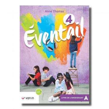 Eventail Français 4 NE - Livre de l'enseignant A - Pack