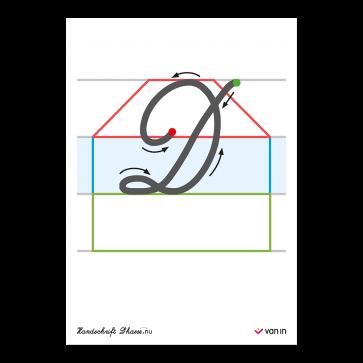 Handschrift D'haese.nu - letterset hoofdletters