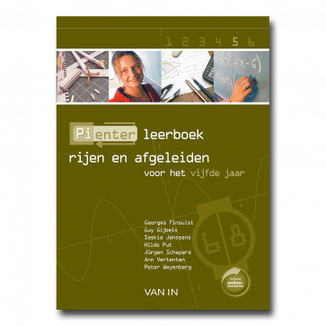 Pienter 5 aso/tso Leerboek Rijen en afgeleiden (6-8u)