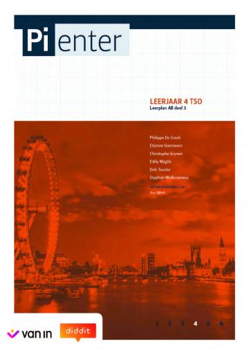 Pienter 4 tso Leerwerkschrift leerplan AB deel 3 (nieuwe editie 2018)