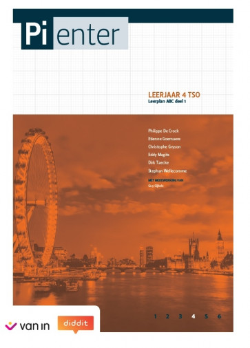 Pienter 4 tso Leerwerkschrift leerplan ABC deel 1 (nieuwe editie 2018)