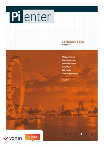 Pienter 4 tso Leerwerkschrift leerplan D (nieuwe editie 2018)