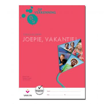 Op verkenning 1 - joepie vakantie ! - themaschrift
