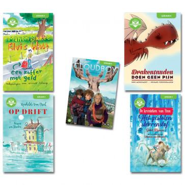 Boektoppers BAO 20-21 - pakket leerjaar 4 - Pack