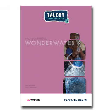 Talent 3 - projectbundel 3 - Wonderwater - correctiesleutel