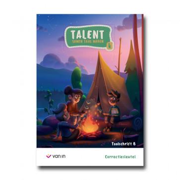 Talent 4 - taalschrift B - correctiesleutel