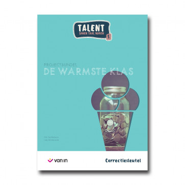 Talent 5 - projectbundel 1 - De Warmste Klas - correctiesleutel