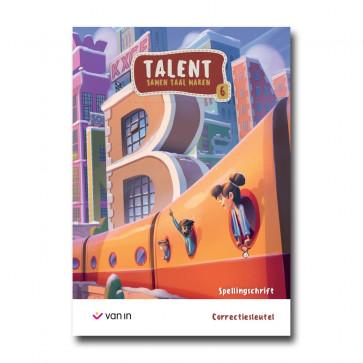 Talent - spellingschrift 6 correctiesleutel