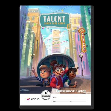 Talent 2 - huiswerkschrift spelling