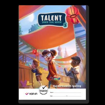 Talent 3 - huiswerkschrift spelling
