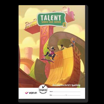Talent 4 - huiswerkschrift spelling