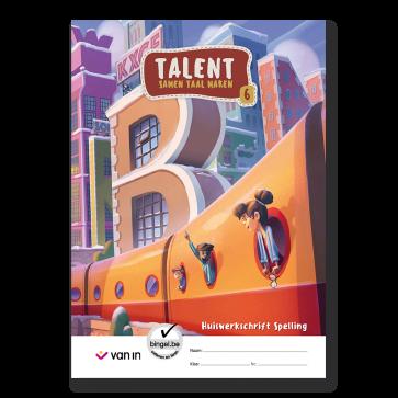 Talent 6 - huiswerkschrift spelling