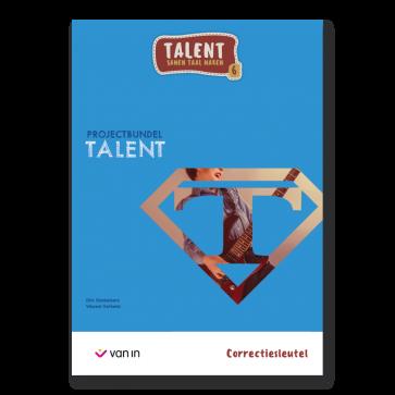 Talent 6 - projectbundel 3 - Talent - correctiesleutel