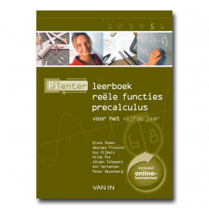 Pienter 5 aso/tso Leerboek Reële functies Precalculus (6-8u)