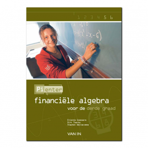 Pienter 5/6 aso/tso Leerboek Financiële Algebra (3-4-6-8u)