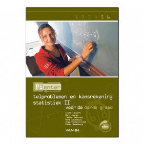 Pienter 5/6 aso/tso Leerboek Telproblemen en Kansrekenen - Statistiek II (6-8u)