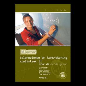Pienter 5/6 aso/tso Leerboek Telproblemen en Kansrekenen - Statistiek II (6-8u)