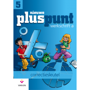 Nieuwe Pluspunt 5 - correctiesleutel werkschrift A